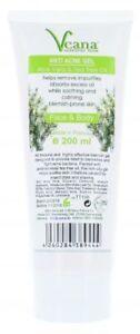 Anti Akne Aloe Vera Teebaum Waschgel bei unreiner zu Akne neigender Haut