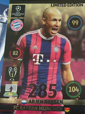 ADRENLYN XL PANINI CHAMPIONS LEAGUE 2014 2015 ROBBEN LIMITED EDITION