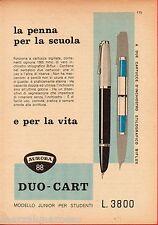 Pubblicità Advertising 1956 Duo-Cart AURORA