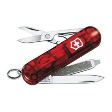 NEW SWISS ARMY 54033 RED RUBY SWISSLITE VICTORINOX KNIFE LED LIGHT