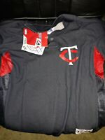 Joe Mauer Minnesota Twins Majestic shirt MLB baseball Jersey NEW -. [ Youth L ]