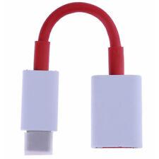 LC_ ROUGE UNIVERSEL Câble USB OTG ADAPTATEUR TYPE C Convertisseur pour OnePlus