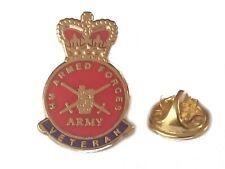 British Armed Forces Veteran Lapel Pin Military Badge