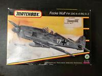 Focke Wulf Fw - 190, A-4 R6 / A-3, Matchbox, Scale:1/72, Kit: 40051, Selten !