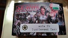 Cypher Studios: AE-WWII 28 mm Metal Box Set - ARPA-T4 TUMBLEWEED TANK new a