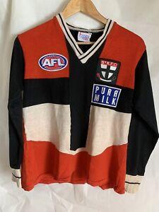 St Kilda Saints vintage/retro Sekem home jumper/guernsey AFL/VFL patch/badge
