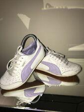 PUMA Ladies Womens Morpheaus Purple Lavender Tennis Gym Shoes Sneakers Uk 5