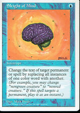 MAGIC THE GATHERING 5TH EDITION BLUE SLEIGHT OF MIND