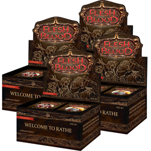 Generic Flesh and Blood Welcome to Rathe Unlimited Booster 4x Box Break #341