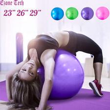 "23"" 26"" 29"" Exercise Workout Yoga Ball Anti Burst for Fitness Pilates Balance"