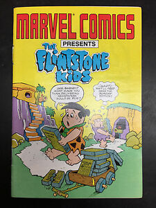 The Flintstone Kids #0 Marvel/Star Comics Very Rare Ashcan Mini Comic Book 1987