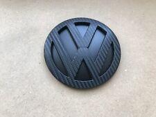Vw Polo 9N / 9N3 Rear Badge Carbon Wrapped 1.2 1.4 1.9 TDI Sport