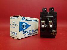 NEW 20A PUSHMATIC ITE SIEMENS P2020 Twin 20 Amp Duplex BREAKER GOULD