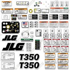 JLG T350 Decal Kit Towable Boom Lift Sticker Set - 7 Year Outdoor 3M Vinyl!