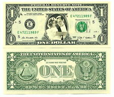 FRED ASTAIRE & GINGER ROGERS - VRAI BILLET DOLLAR US! Collection Danse Hollywood
