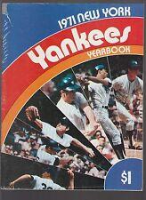New York Yankees 1971 Team Yearbook