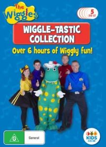 Wiggles Collection 5-DVD Set Over 6 Hours Viewing New/Sealed