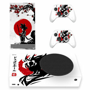 Dragon Ball Vinyl Skin Decal Sticker for Xbox Series S Console & 2 Controllers