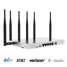 AT&T Verizon 4G LTE Router SIM Card T-Mobile Industrial 1200Mbps Hotspot WiFi