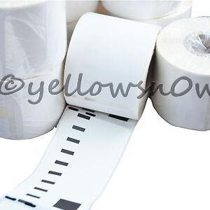 4 Rolls Premium 99012 DYMO Compatible Labels 36x89mm 260 Labels S0722400