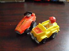 Lot of 2 1984 1985 McDonalds Friction Racer Toys
