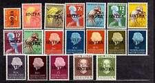 Nieuw-Guinea UNTEA nvph 1-19 origineel postfris