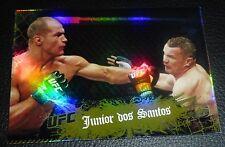 Junior Dos Santos UFC 2010 Topps Main Event Gold Card #19 160 155 146 131 117 90