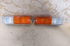 PAIR NOS GENUINE CARELLO FIAT RITMO 105 125 TC FRONT SIGNAL LAMPS
