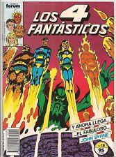 Los 4 Fantasticos #18 (1982 series) Color SPAIN Spanish Lang FINE