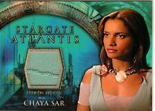 Stargate Atlantis Season 1 Costume Card Chaya Sar