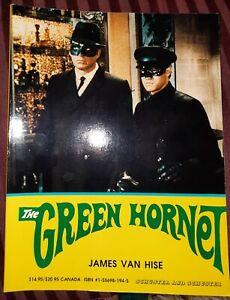1988 THE GREEN HORNET BOOK James Van Hise  Van Williams  Bruce Lee