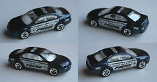 "Hot Wheels-Ford Fusion schwarzblaumet. ""Gotham City Police"" Batman"