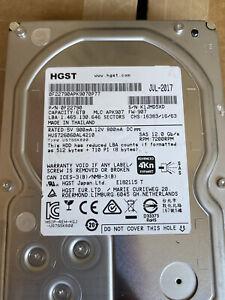 """HGST HUS726060AL4210 / 0F22790 Ultrastar 7K6000 6Tb 7200RPM SAS 3.5"""" HDD"""