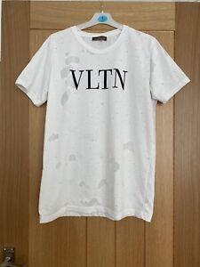 Valentino VLTN Mens White Tshirt XL GC