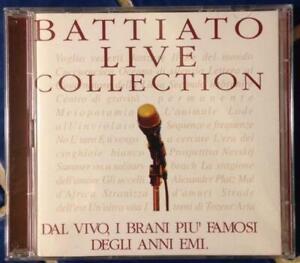 BATTIATO LIVE COLLECTION - Franco Battiato - EMI 1997 - Doppio CD