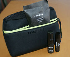 DIESEL/ALITALIA Set Viaggio Donna/Uomo Amenity Travel Kit Beauty Travel Set