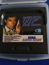 JEU GAME GEAR * James Bond 007 THE DUEL