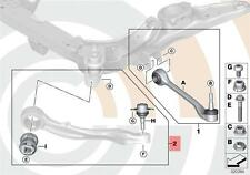 Genuine BMW 5 Series E60 E61 Sedan Trailing Link Arm Repair Kit OEM 31102348042