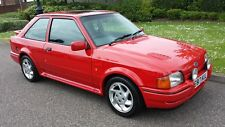 FORD ESCORT RS TURBO ONLY 27K AND TOTALLY ORIGINAL