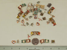 33 CHARMS -SCRAPBOOKING THEME FOR JEWELRY & CRAFTING/ COLLAGE,