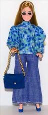 Vintage Topper Dawn Doll HTF Side Part Dawn Pippa Fashion Clone Purse,..! Lot #7
