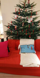 IKEA Christmas Tree FABRIC Decorative Panel XMAS Wall Hanging VINTER 2014