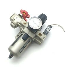 "SMC AW30-N03-Z Filter Regulator, Pressure Switch, & Valve, 7-125PSI, 1/4""NPT"