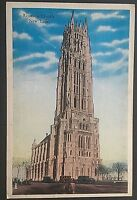 Riverside Church New York Postmark 1937 Vintage Postcard D79