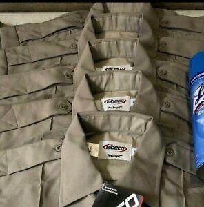 Elbeco Tex Trop 2 Security Enforcement Perfromance Shirt Lot (5) Mens 16 New Tag