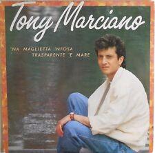 VINILE LP 33 GIRI RPM TONY MARCIANO NA MAGLIETTA NFOSA TRASPARENTE E MARE