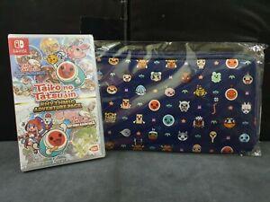 (ASIA ENGLISH) Nintendo Switch Taiko no Tatsujin Rhythmic Adventure Pack + Pouch