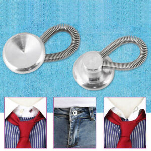 Shirt Metal Collar Extenders Button Extender Dress Shirts Accessories ca
