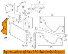 KIA OEM 14-18 Soul 2.0L-L4 Radiator-Air Guide Right 29135B2000