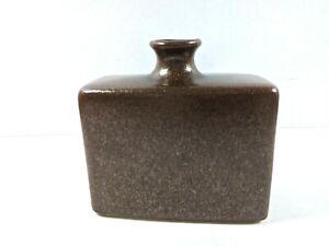 """Royal Haeger Potter 2001 Square Vase Brown Copper Metallic Shimmer 5.25"""""""